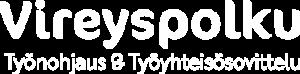 Vireyspolku logo valkoinen